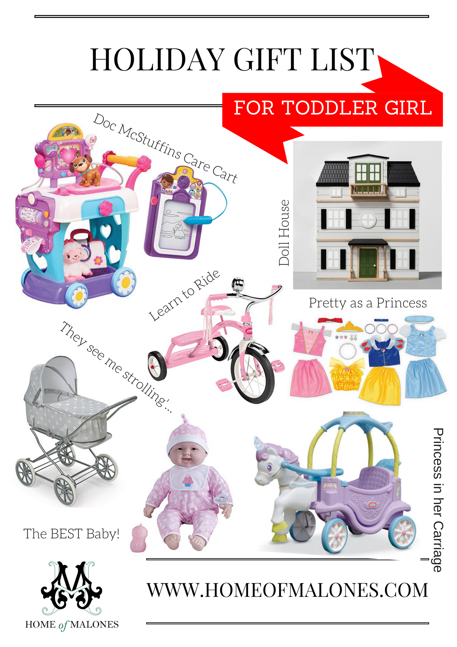 Holiday Gift List 2017 | For the Toddler Boy and Girl - Home of ...